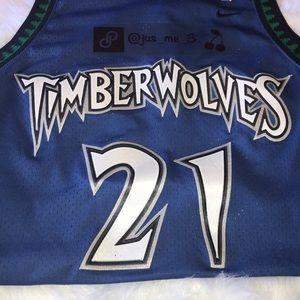 bcb3b2994fe ... reduced nike other vintage jersey minnesota timberwolves 21garnett  09798 aa0e5